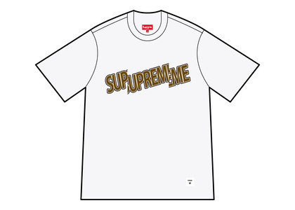 Supreme Cut Logo S/S Top White (SS21)の写真