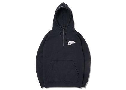 Supreme Nike Half Zip Hooded Sweatshirt Black (SS21)の写真