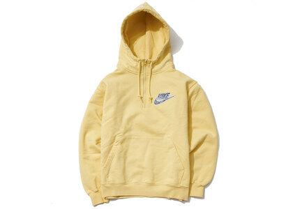 Supreme Nike Half Zip Hooded Sweatshirt Pale Yellow (SS21)の写真