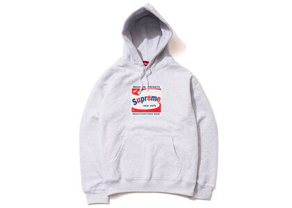 Supreme Shine Hooded Sweatshirt Ash Grey (SS21)の写真