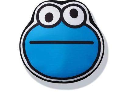 Bape x Sesame Street Face Big Cushion Blue (SS21)の写真