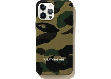 Bape 1st Camo iPhone 12 Pro Max Case Green (SS21)の写真