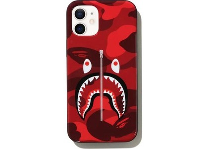 Bape Color Camo Shark iPhone 12 Mini Case Red (SS21)の写真