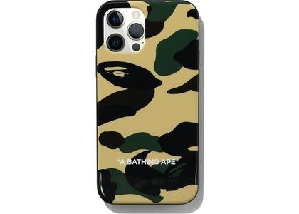 Bape 1st Camo iPhone 12/12 Pro Case Yellow (SS21)の写真