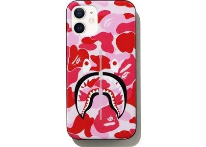 Bape ABC Camo Shark iPhone 12 Mini Case Pink (SS21)の写真