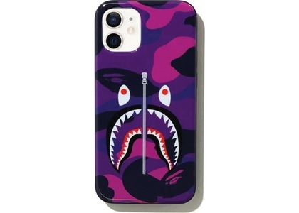 Bape Color Camo Shark iPhone 12 Mini Case Purple (SS21)の写真