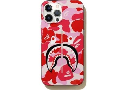 Bape ABC Camo Shark iPhone 12 Pro Max Case Pink (SS21)の写真