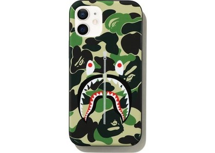 Bape ABC Camo Shark iPhone 12 Mini Case Green (SS21)の写真