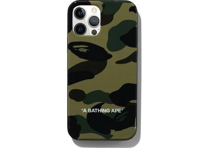 Bape 1st Camo iPhone 12/12 Pro Case Green (SS21)の写真