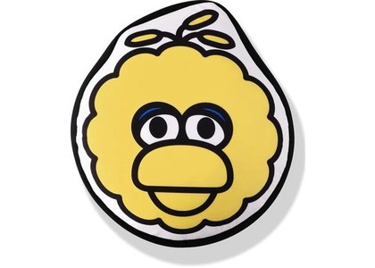 Bape x Sesame Street Face Big Cushion Yellow (SS21)の写真