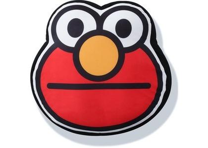 Bape x Sesame Street Face Big Cushion Red (SS21)の写真