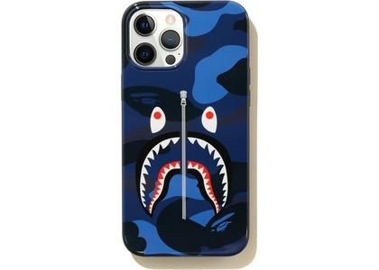 Bape Color Camo Shark iPhone 12 Pro Max Case Navy (SS21)の写真