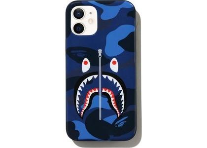 Bape Color Camo Shark iPhone 12 Mini Case Navy (SS21)の写真