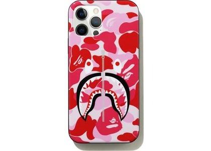 Bape ABC Camo Shark iPhone 12/12 Pro Case Pink (SS21)の写真