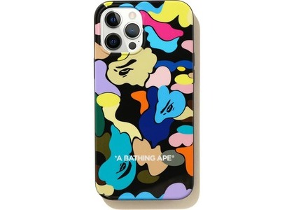 Bape Multi Camo iPhone 12 Pro Max Case Black (SS21)の写真