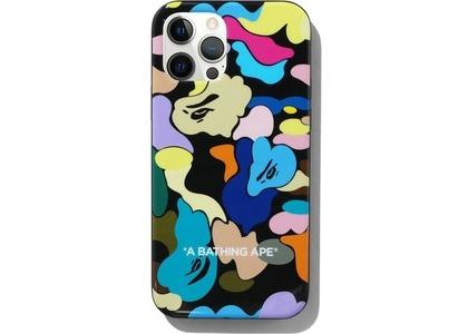 Bape Multi Camo iPhone 12/12 Pro Case Black (SS21)の写真
