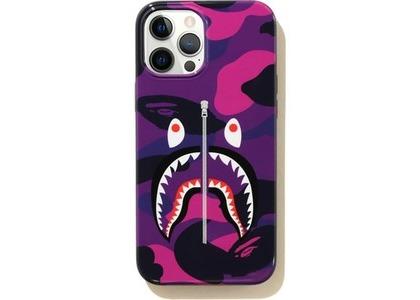 Bape Color Camo Shark iPhone 12 Pro Max Case Purple (SS21)の写真