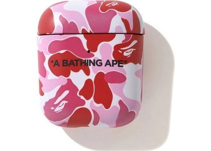 Bape ABC Camo Airpods Case Pink (SS21)の写真