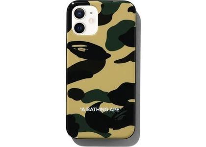 Bape 1st Camo iPhone 12 Mini Case Yellow (SS21)の写真