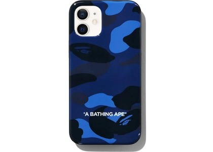 Bape Color Camo iPhone 12 Mini Case Navy (SS21)の写真
