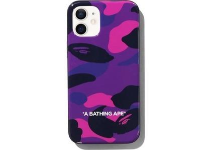 Bape Color Camo iPhone 12 Mini Case Purple (SS21)の写真