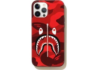 Bape Color Camo Shark iPhone 12 Pro Max Case Red (SS21)の写真