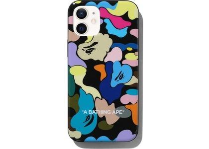 Bape Multi Camo iPhone 12 Mini Case Black (SS21)の写真
