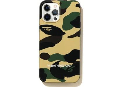 Bape 1st Camo iPhone 12 Pro Max Case Yellow (SS21)の写真