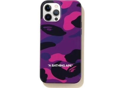 Bape Color Camo iPhone 12 Pro Max Case Purple (SS21)の写真
