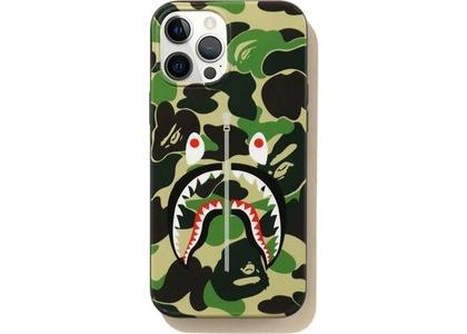 Bape ABC Camo Shark iPhone 12 Pro Max Case Green (SS21)の写真
