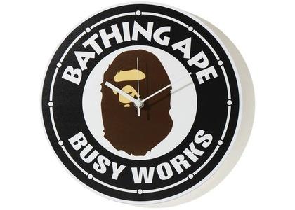 Bape Busy Works Wall Clock Black (SS21)の写真