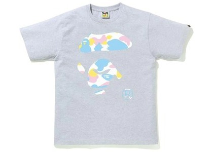 Bape New Multi Camo Ape Face Tee Gray (SS21)の写真