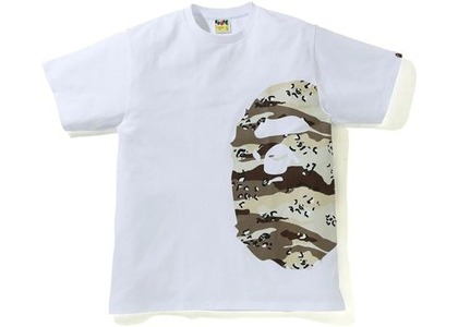 Bape Desert Camo Side Big Ape Head Tee White/Beige (SS21)の写真