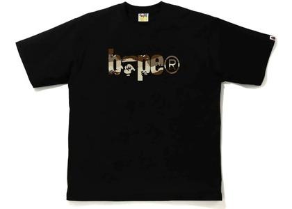 Bape Desert Camo Bape Logo RLX Tee Black/Beige (SS21)の写真