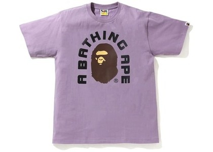 Bape College 2022 Tee Purple (SS21)の写真