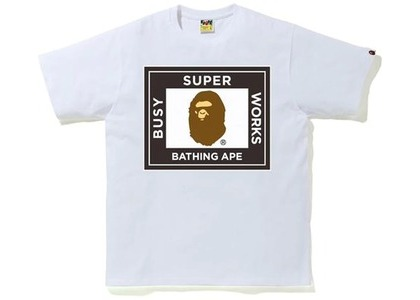 Bape Super Busy Works Tee Gray (SS21)の写真