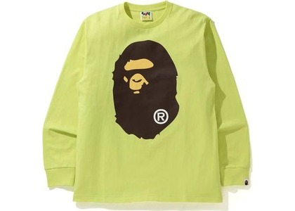 Bape Big Ape Head L/S Tee Green (SS21)の写真