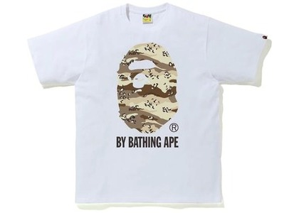 Bape Desert Camo by Bathing Ape Relaxed Tee White/Beige (SS21)の写真