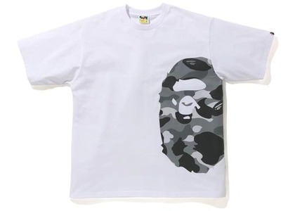 Bape Color Camo Side Big Ape Head Relaxed Tee White/Gray (SS21)の写真