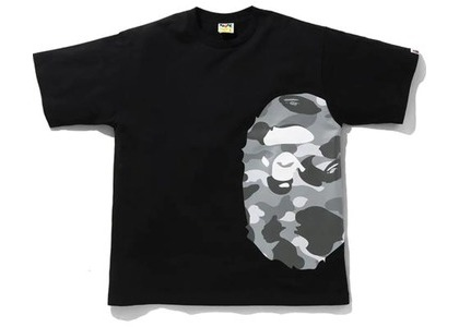 Bape Color Camo Side Big Ape Head Relaxed Tee Black/Gray (SS21)の写真