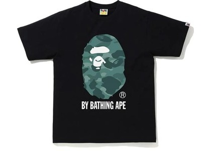 Bape Color Camo by Bathing Ape Tee Black/Green (SS21)の写真