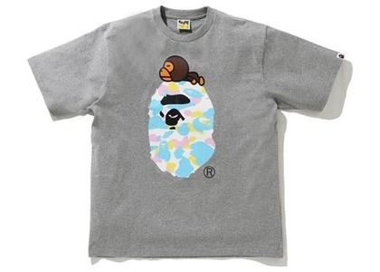 Bape New Multi Camo Milo On Ape Relaxed Tee Gray (SS21)の写真