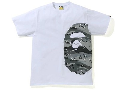 Bape Desert Camo Side Big Ape Head Tee White/Black (SS21)の写真