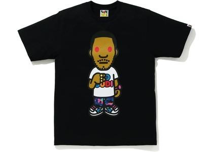 Bape x Kid Cudi Tee Black (SS21)の写真