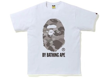 Bape Color Camo by Bathing Ape Tee White/Gray (SS21)の写真