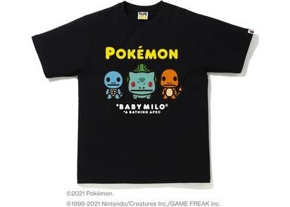 Bape Pokémon Baby Milo #14 Tee Black (SS21)の写真