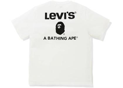 Bape x Levi's A Bathing Ape Tee White (SS21)の写真