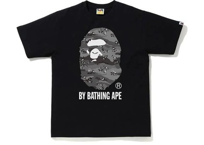 Bape Desert Camo by Bathing Ape Relaxed Tee Black/Black (SS21)の写真