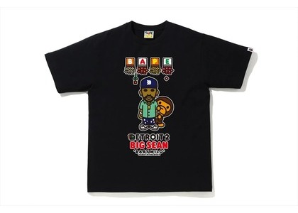 Bape x Big Sean Detroit 2 Baby Milo Tee Black (SS21)の写真