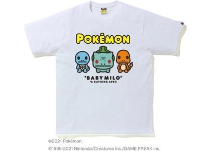 Bape Pokémon Baby Milo #14 Tee White (SS21)の写真
